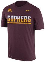 Nike Men's Minnesota Golden Gophers Legend Staff Sideline T-Shirt