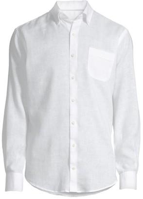 Peter Millar Sardinia Regular-Fit Stretch-Linen Sport Shirt