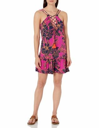 Maaji Women's Lace Up Two Way Short Dress
