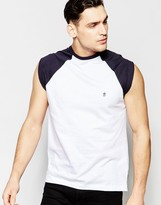 French Connection Cap Sleeve Raglan Tank