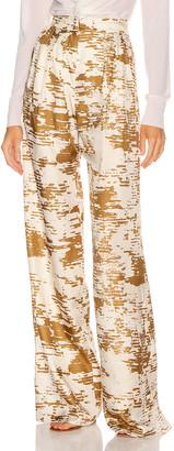 Max Mara Acume Pant in Gold | FWRD