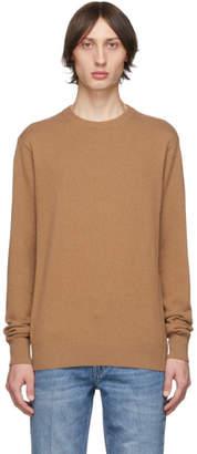 Stella McCartney Tan Cashmere Talbot Sweater