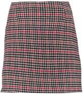 New Look RILEY CHECK Mini skirt black