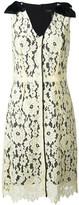Marc Jacobs floral lace midi dress