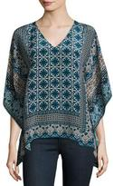 Tolani Candice V-Neck Printed Tunic
