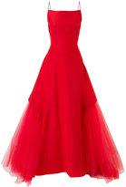 Zac Posen flared dress - women - Silk/Polyester - 4
