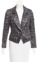 Zac Posen Metallic evening Blazer