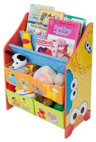 Sesame Street Book & Toy Organizer - Multicolor