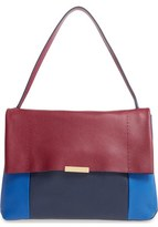 Ted Baker 'Proter' Pebbled Leather Shoulder Bag