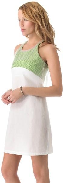 Chalayan Grey Line Tank Dress
