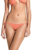 Vix Paula Hermanny Women's Laser Cut Side Tie Bikini Bottoms