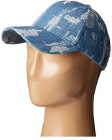 Steve Madden Denim Distressed Baseball Cap Baseball Caps