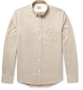 Acne Studios - Isherwood Button-down Collar Brushed-cotton Twill Shirt