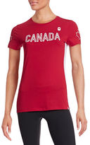 Canadian Olympic Team Collection Womens Village Media Announcement T-Shirt