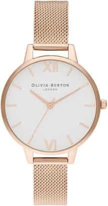 Olivia Burton Rose Goldtone Bracelet Watch