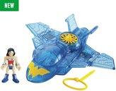 Imaginext Imaignext DC Super Friends Wonder Woman & Invisible Jet