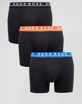 BOSS Black By Hugo 3 Pack Trunks in Longer Length