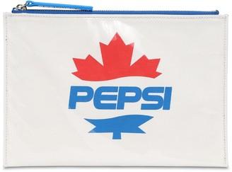 DSQUARED2 Pepsi Logo Pvc Zip Pouch