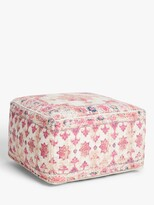 Thumbnail for your product : John Lewis & Partners Distressed Medallion Pouffe, Multi