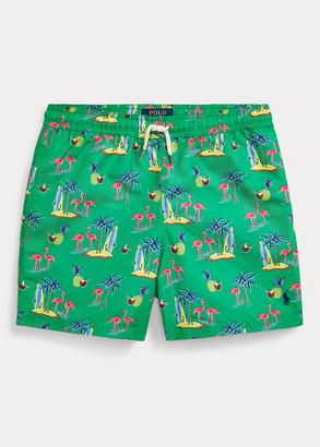 Ralph Lauren Traveler Flamingo Swim Trunk