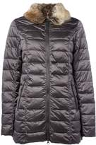 Barbour Munro Quilted Jacket With Faux Fur Collar