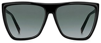 Givenchy 60MM Flat-Top Square Sunglasses