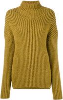 A.F.Vandevorst chunky knit poloneck - women - Acrylic/Alpaca/Virgin Wool - M