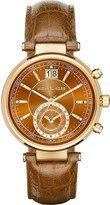 Michael Kors MK2424 Sawyer gold-plated stainless steel watch