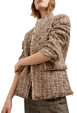 Gerard Darel Brunella Tweed Jacket