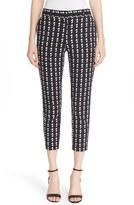 Theory Women's 'Treeca 2' Geometric Plaid Cigarette Pants