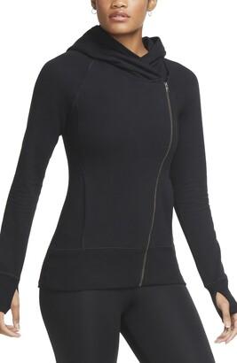Nike Yoga Statement Essential Fitted Full-Zip Hoodie