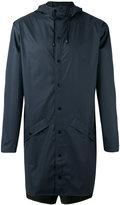Rains zipped coat - men - Polyester/Polyurethane - S/M