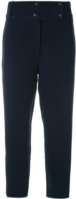 Gloria Coelho High Waisted Cropped Trousers