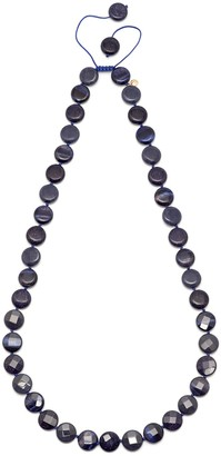 Lola Rose Teresa Bss Navy Tigers Eye Necklace of 41cm