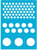 Americana Reusable Stick on Dots Stencil 8 in. x 11 in.