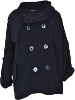 Giorgio Armani Double Breasted Truncated Coat