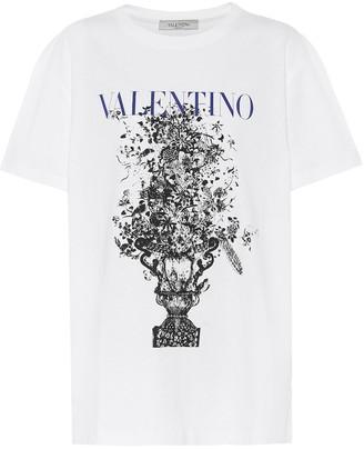 Valentino Logo cotton-jersey T-shirt