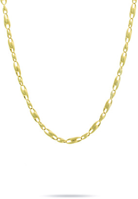 "Marco Bicego Lucia 18k Gold Interlock Chain Necklace, 17""L"