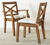 Pottery Barn Hampstead Teak Dining Chair - Honey