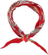 Hermes Le Mors Silk Plissé Scarf