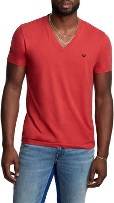 True Religion Brand Jeans V-Neck T-Shirt