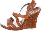 Michael Kors Crossover Wedge Sandals