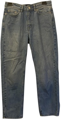 Wood Wood Blue Cotton Jeans for Women