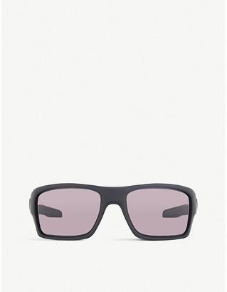 Oakley Women's Matte Black Oo9263 Turbine Sunglasses