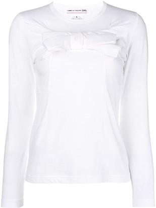 Comme des Garcons longsleeved sweatshirt