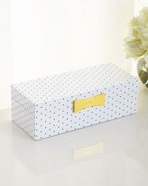 Kate Spade Polka Dot Rectangular Jewelry Box