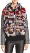 Maximilian Furs Saga Fox Fur Mixed Media Jacket - 100% Exclusive