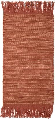Bloomingville Orange Wool Rug