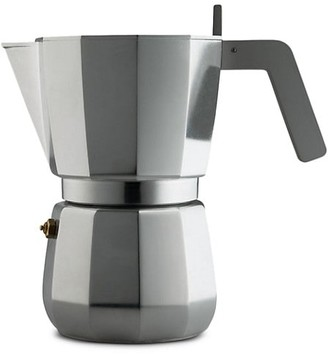 Alessi David Chipperfield Moka 9-Cup Espresso Coffee Maker