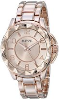 August Steiner Women's AS8159RG Rose Gold Quartz Watch with Rose Gold Dial and Rose Gold Bracelet